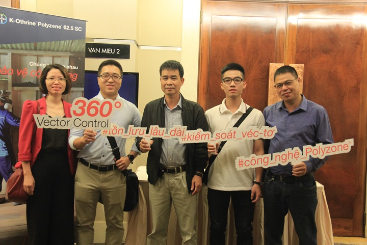 Guests join the event launch of K-Othrine Polyzone in Vietnam
