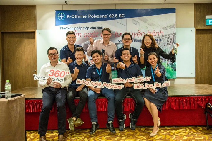 Key messages about K-Othrine® Polyzone™ 62.5 SC from Bayer Environmental Science Vietnam team.